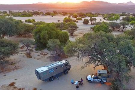 Wild-romatic camp sites