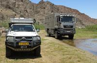 Expedition mobile Atacama in the Kaokoveld