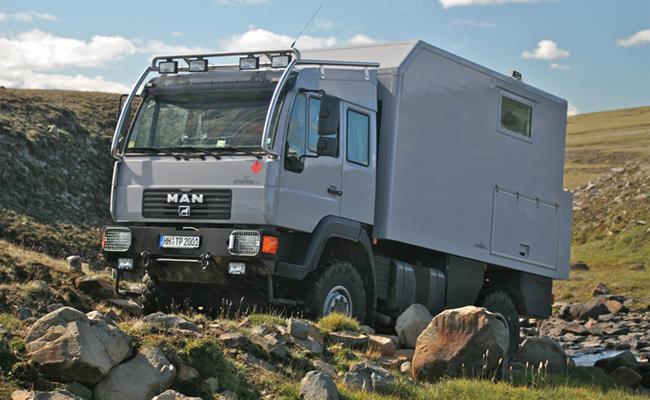 ARAKAOU expedition motor home