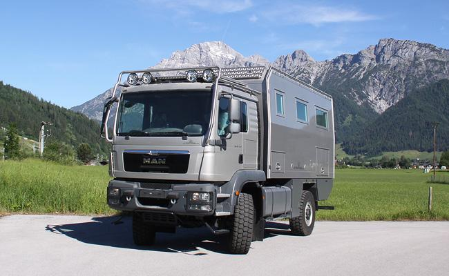 Atacama 5200 Expedition motor home