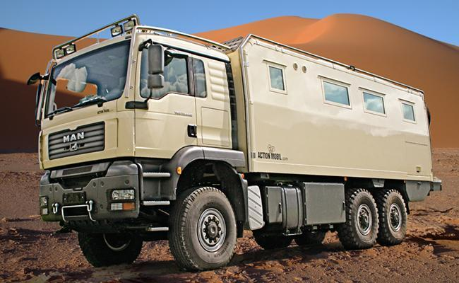 ATACAMA 7100 - World-traveler motor home offer the same comfort as home