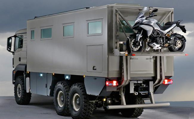 GLOBAL XRS 7200 - GLOBAL XRS 7200 – An top-clas offroad world-traveler motor home