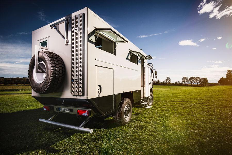 Off road caravans Temet 5500
