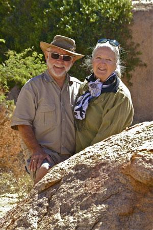 Otti and Steffi Reitz on retirement in Africa